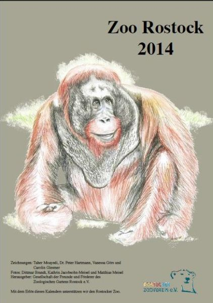 Kalender vom Rostocker Zooverein 2014