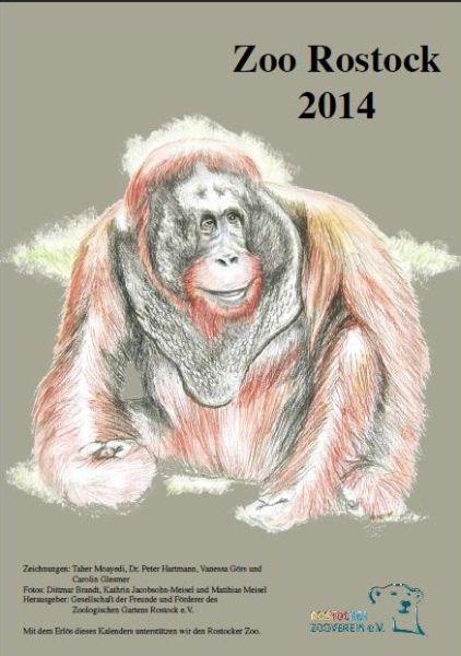 Kalender vom Rostocker Zooverein 2014