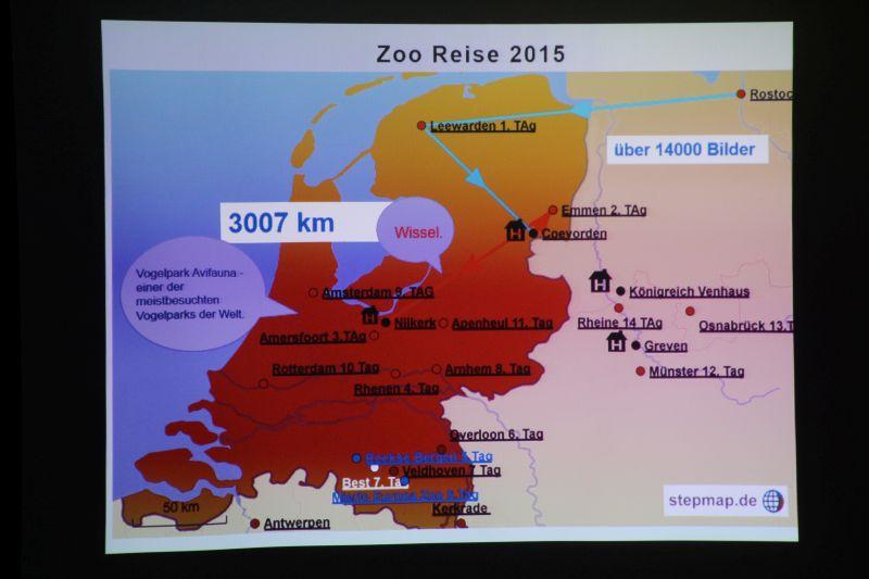 Zooreise zu niederländischen Zoos