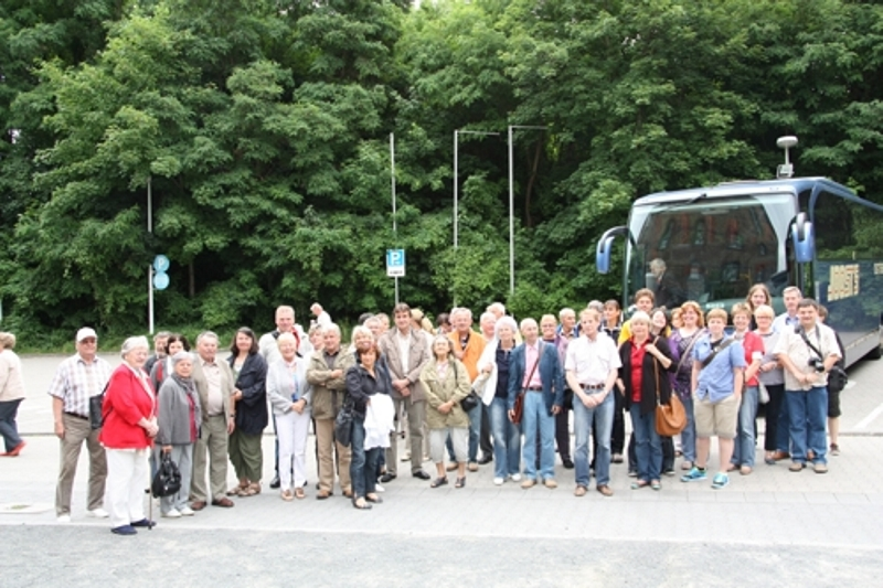 Die Mitglieder des Zoovereins auf Reisen.