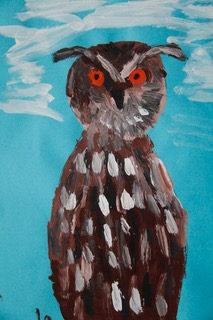 Ausstellung Junge Künstler zeichneten Tiere des Rostocker Zoos