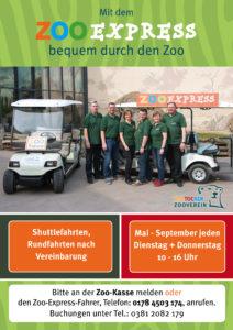 ZooExpress-Plakat
