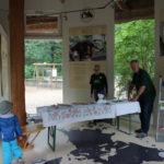 Stand Artenschutzpavillon (Rostocker Zooverein) - Artenschutztag 2017