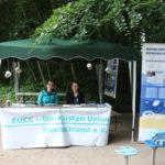 Stand Meeresmüll - Europäische Küstenschutzunion (EUCC-D) - Artenschutztag 2017