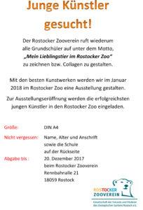 Plakat Junge Künster gesucht 2018 als pdf zum download