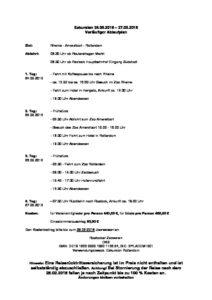 vorläufiger Ablaufplan der Exkursion nach Rotterdam als pdf zum download