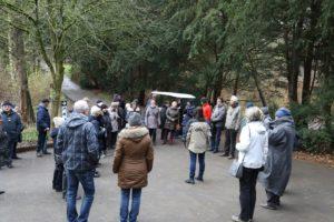 Eingang Trotzenburg - Jahresabschluss Zooverein 2017