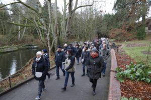 Weg zur Baustelle - Jahresabschluss Zooverein 2017