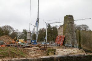 Baustelle Polarium - Jahresabschluss Zooverein 2017