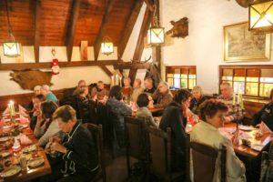 """gemütliches Beisammensein in der Gaststätte""""Jägerhütte"""" - Jahresabschluss 2017"""