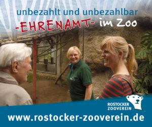 Werbung Ehrenamt Zooverein - Helfen Sie uns