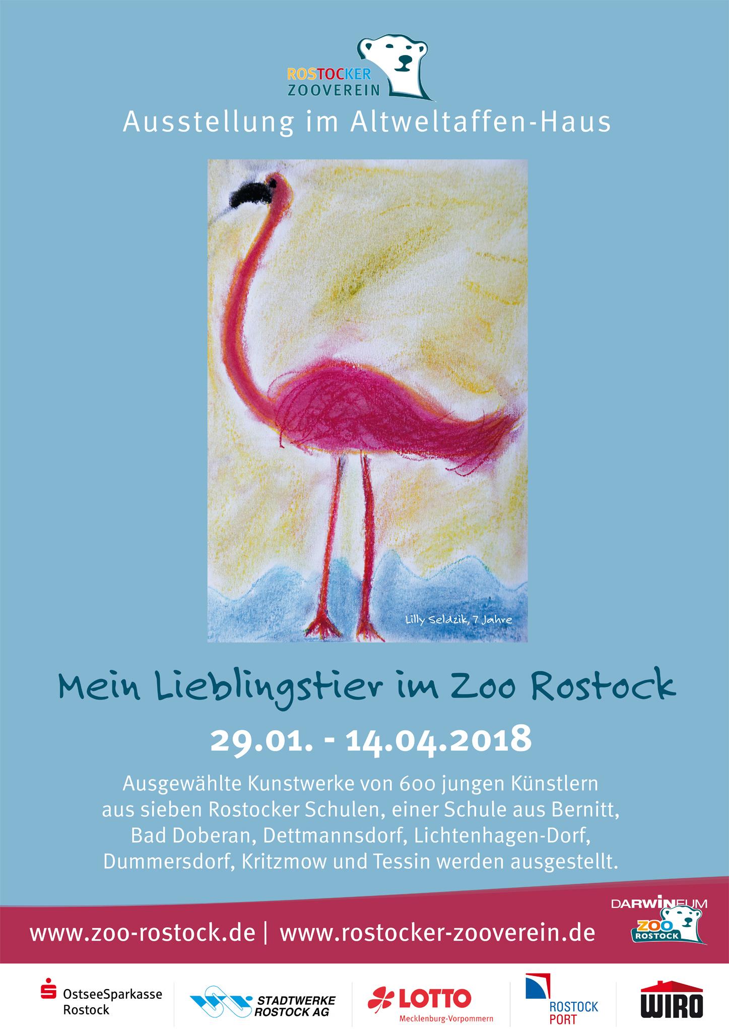 Plakat Ausstellung Kinderzeichnungen 2018