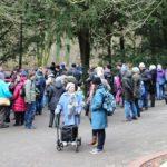 Treffpunkt der Sonntagsführungen Eingang Trotzenburg - Sonntagsführung