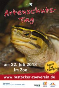 Plakat Artenschutztag 2018 Rostocker Zooverein