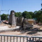 Blick über die Polarium-Baustelle