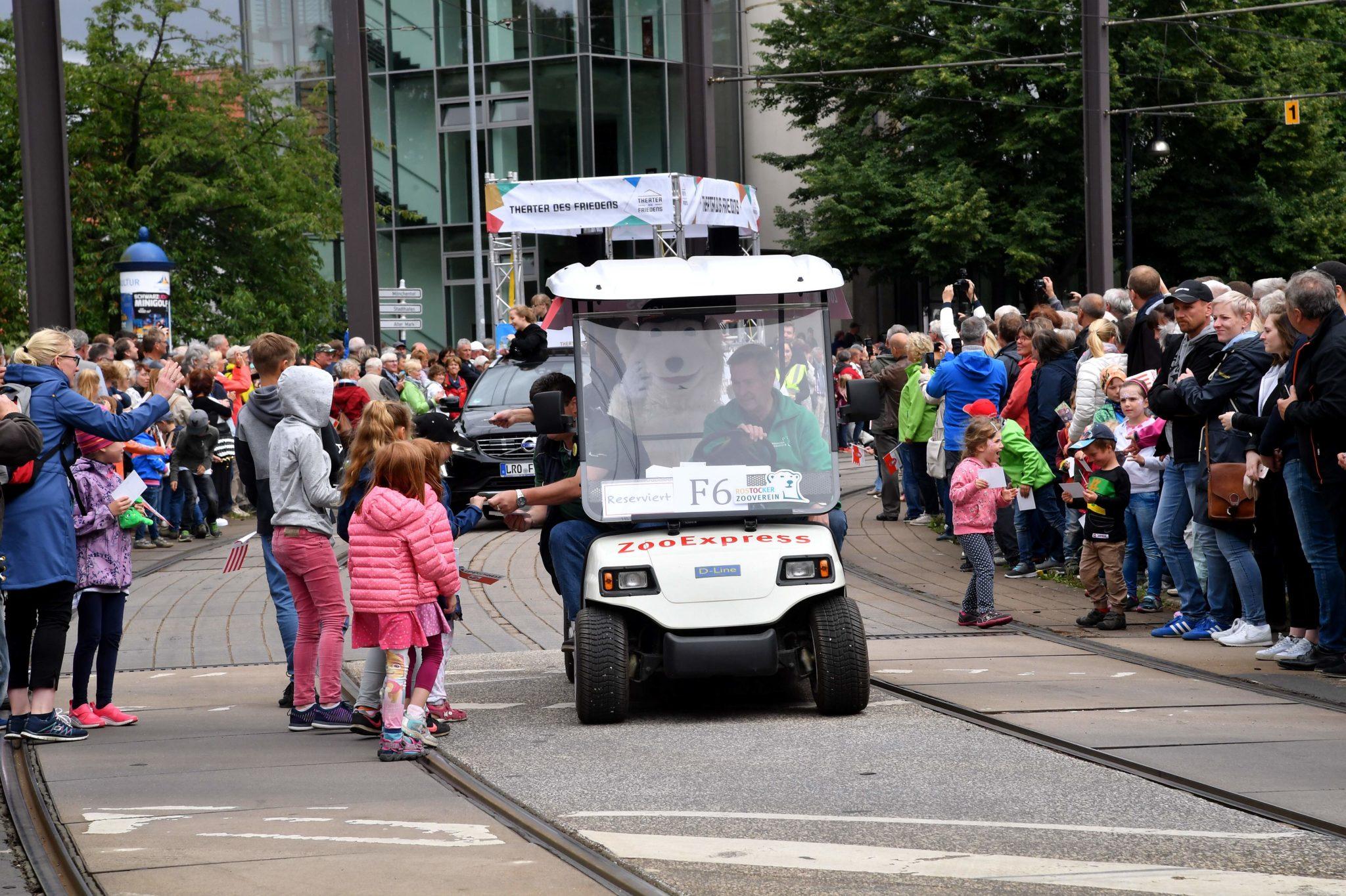 Zooverein beim Ümgang zum Hansetag