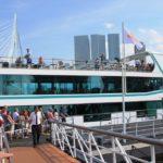 Anlegestelle Fahrgastschiffe Rotterdam